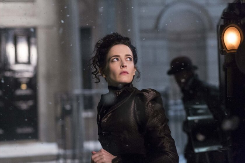 "Eva Green in ""Penny Dreadful"" on Showtime."