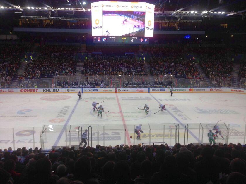 Hockey, una forma de vida en Rusia