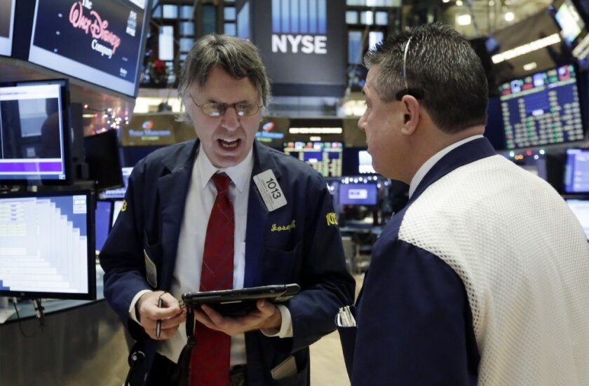 Traders on the floor of the New York Stock Exchange have been preparing for a Fed interest rate hike for weeks.