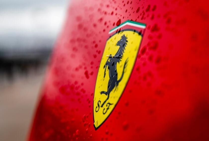 La marca automovilística Ferrari. EFE/Archivo
