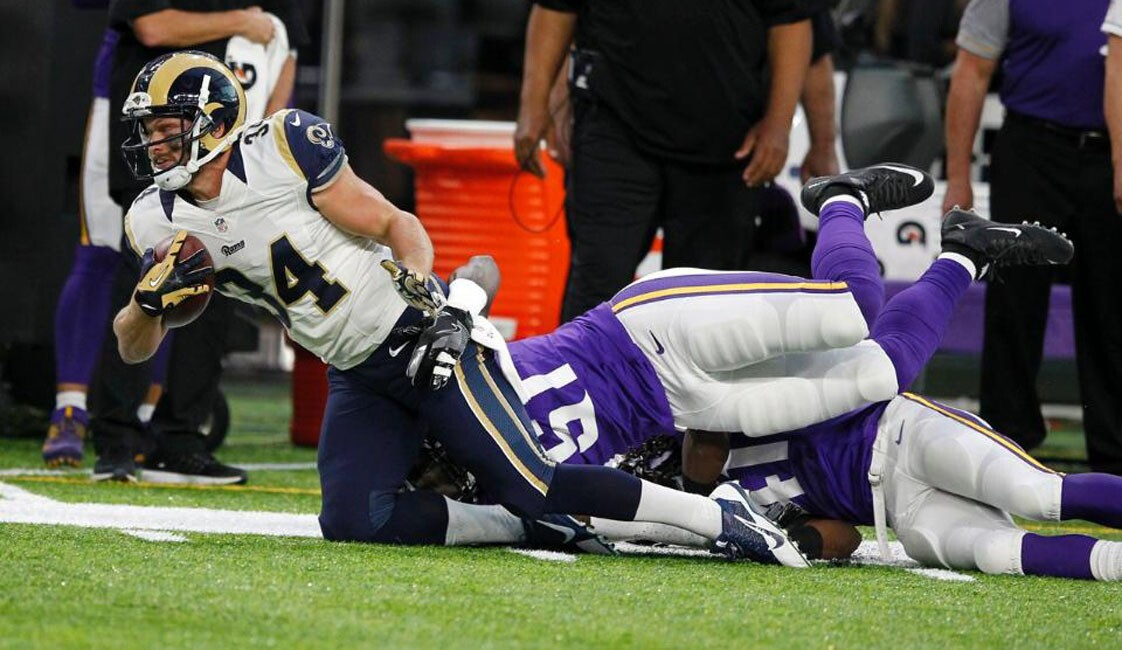 Pretemporada NFL: Rams 25-27 Vikings