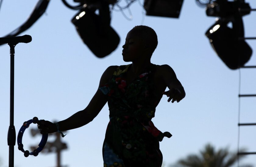 Fitz and the Tantrums, featuring Noelle Scaggs (above), wil perform as part of San Diego radio station 91X-Fm's May 17 X-Fest show at Sleep Train Amphitheatre in Chula Vista.