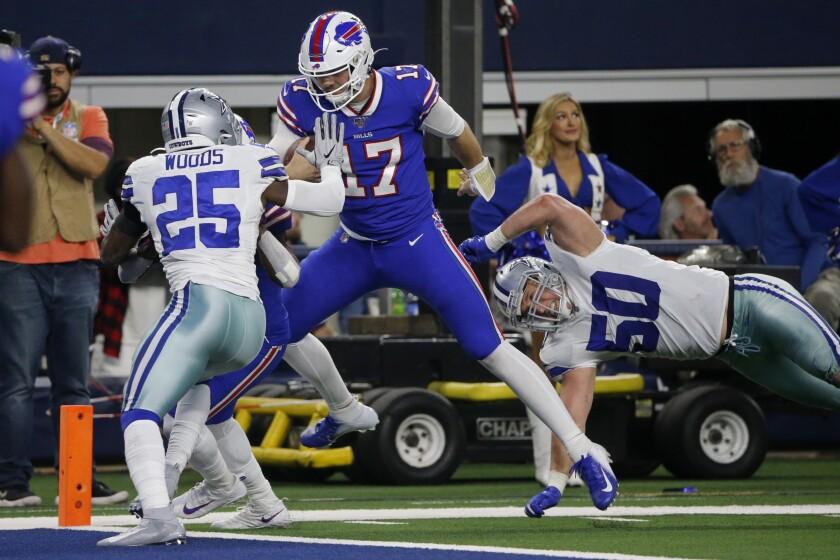 APTOPIX Bills Cowboys Football
