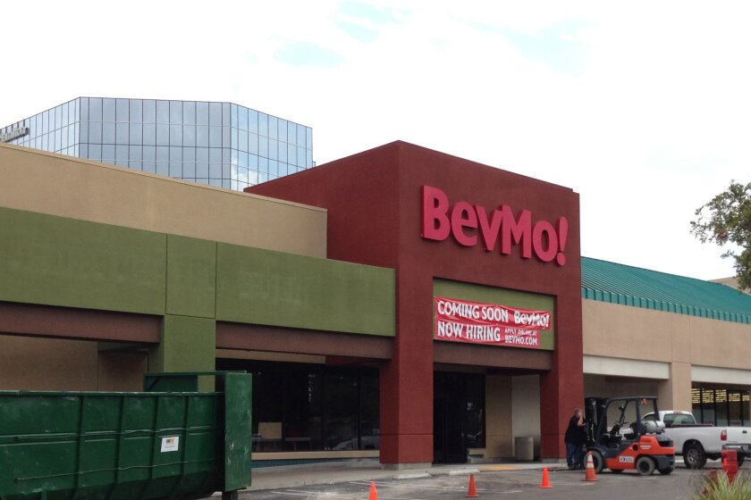 BevMo is opening a second store soon in Mission Valley.
