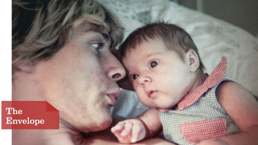 Kurt Cobain with Frances Bean