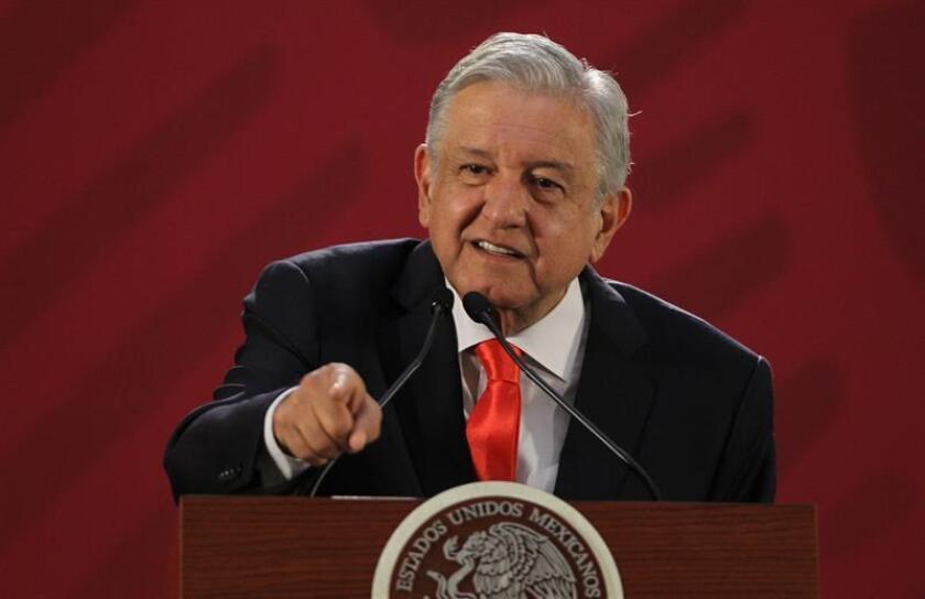 Imagen del presidente de México, Andrés Manuel López Obrador. EFE/Archivo