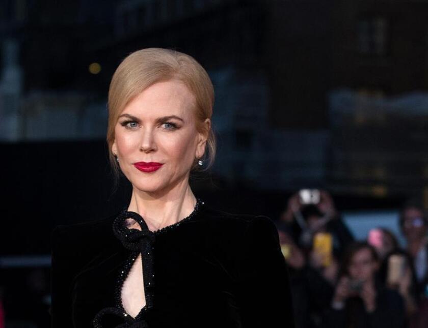 """La actriz australiana Nicole Kidman asegura que sus hijas pequeñas, Faith Margaret y Sunday Rose, de seis y ocho años, respectivamente, son su """"fuerza impulsora"""", el mismo instinto maternal que le llevó a """"Lion"""", una historia sobre """"amor incondicional"""" y con un mensaje """"fuerte y valioso"""". EFE/ARCHIVO"""