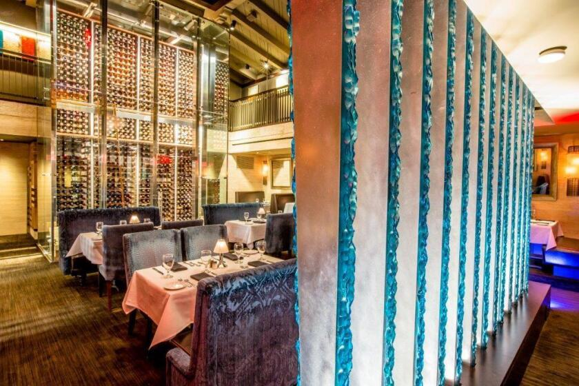 Eddie V's, at The Headquarters in downtown San Diego, is where you go to get your grown-up on. Tables 112 and 122 are private little getaways tucked inside a large supper club.
