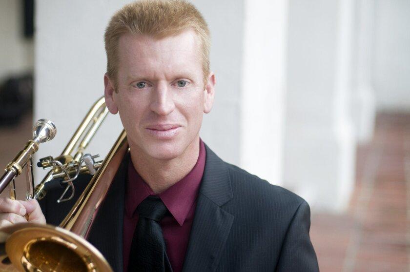 Trombonist Eric Starr