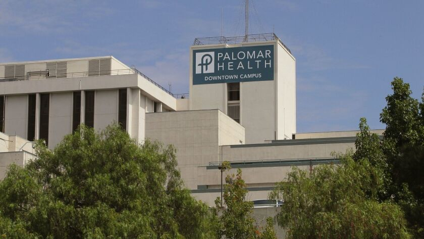 The old Palomar Medical Center property in downtown Escondido might soon be sold for development.