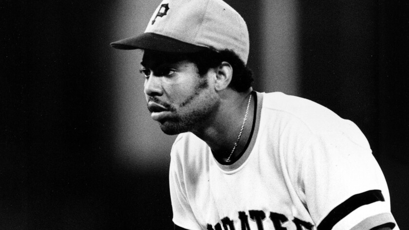 Pittsburgh Pirates pitcher Dock Ellis during a home game in Aug. 1974.