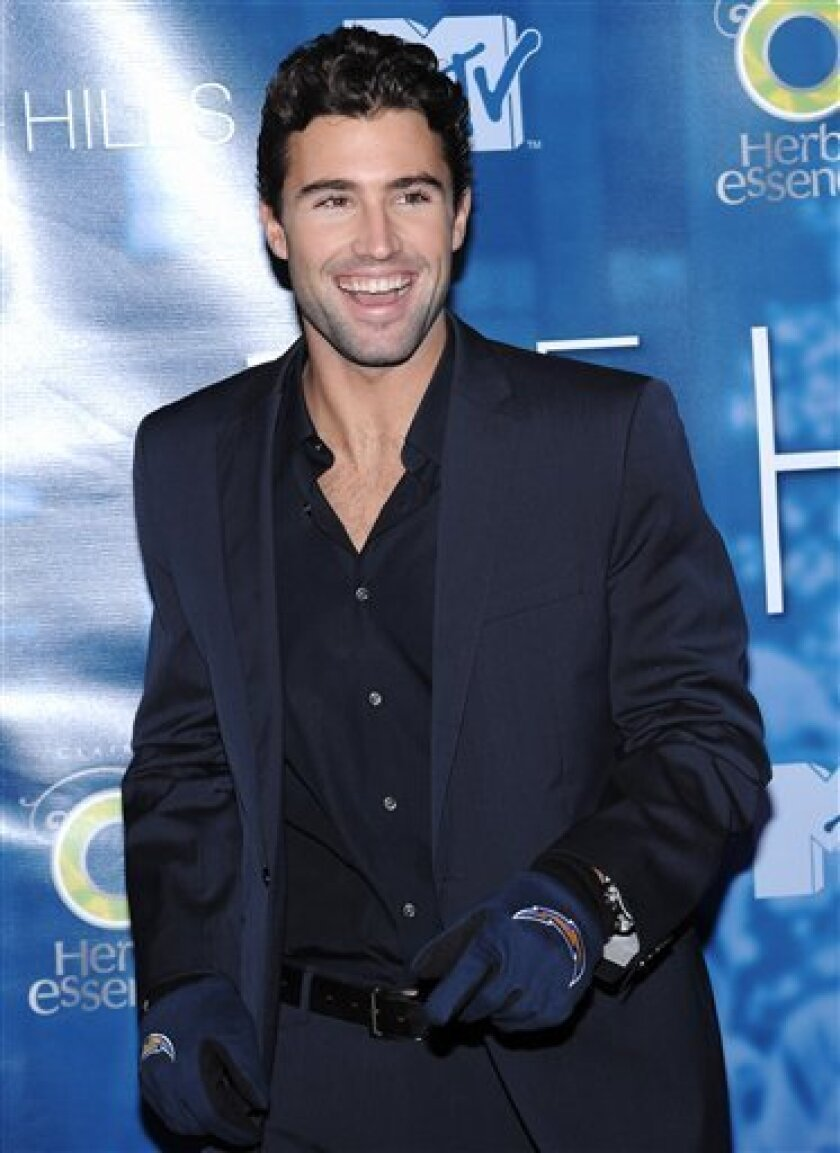 """In this Dec. 22, 2008 file photo, television personality Brody Jenner attends """"The Hills"""" finale party at Tavern on the Green in New York. (AP Photo/Evan Agostini, file)"""
