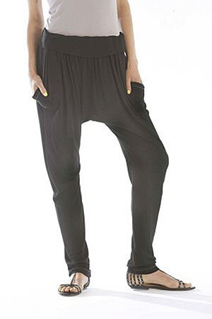 Harem pants: Ella Moss pants with Corso Como sandals