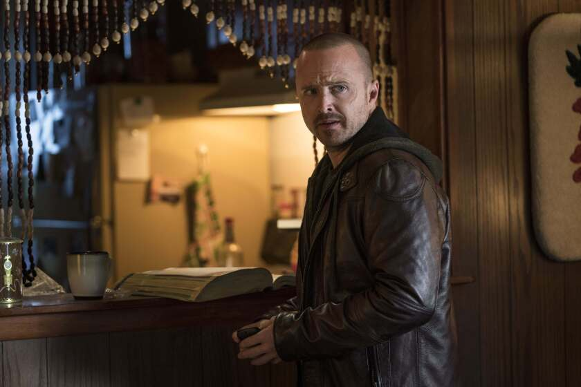 "Aaron Paul in a scene from ""El Camino: A Breaking Bad Movie."""