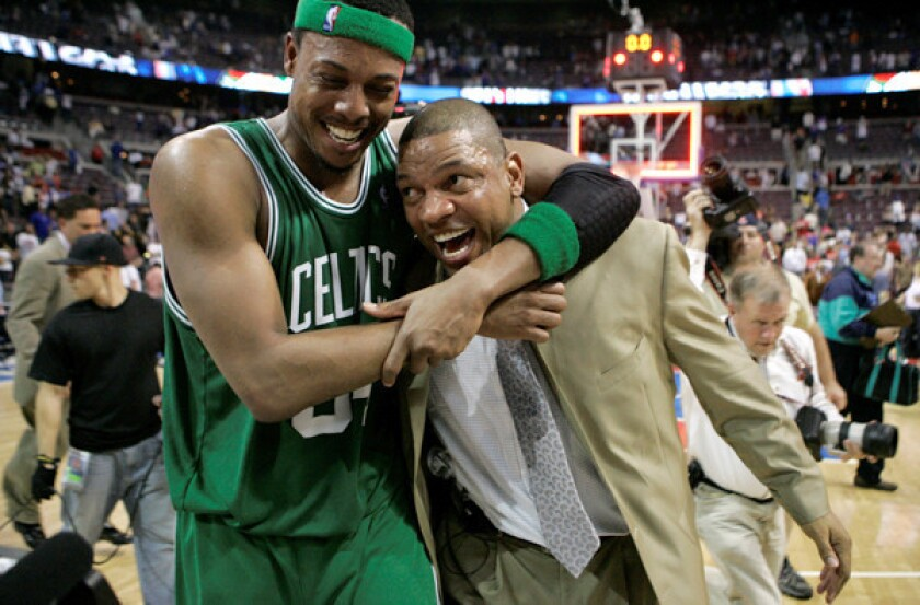 Doc Rivers expects to be emotional with Pierce, Garnett in town