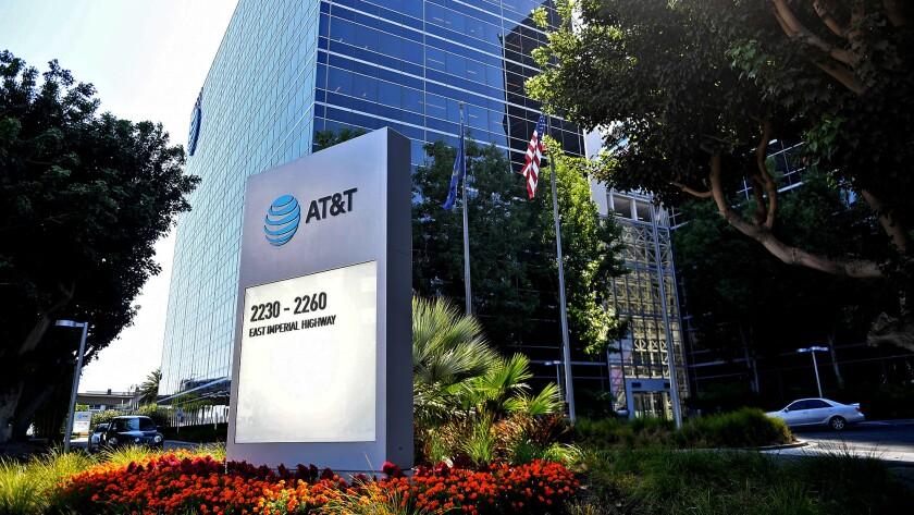 EL SEGUNDO-CA-SEPTEMBER 5, 2017: AT&T offices in El Segundo. (Christina House / For the Times)