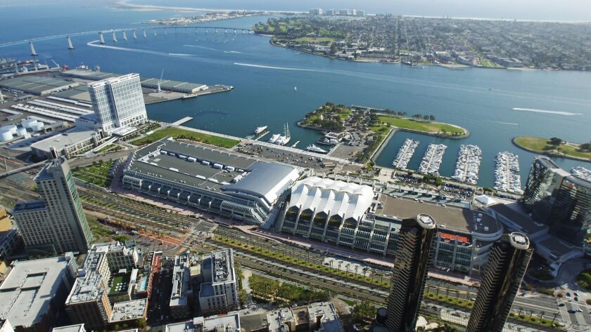 Proposed deal would give city control of key bayfront parcel needed for long-stalled expansion of San Diego Convention Center.