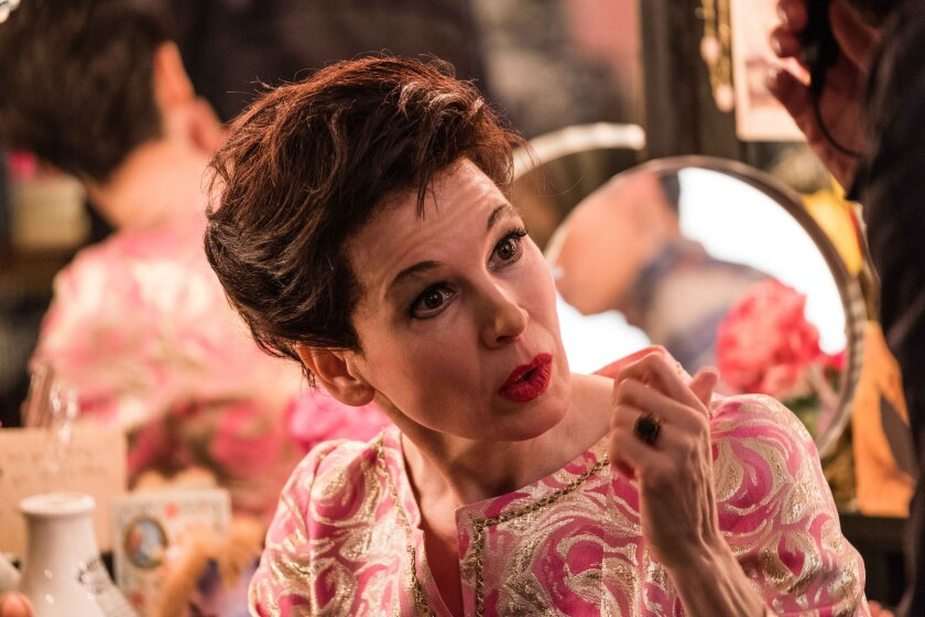 Renée Zellweger as Judy Garland