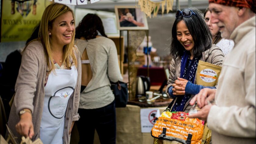 Shop for jewelry, ceramics, home decor and more at Jackalope Indie Artisan Fair in Pasadena.