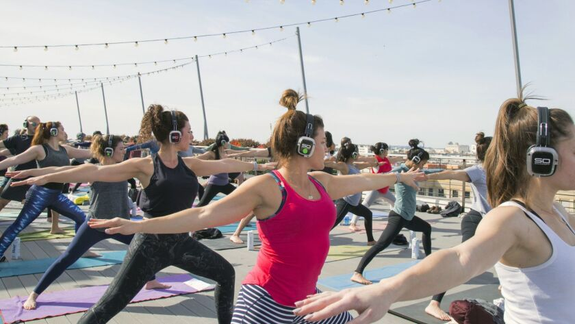 Flow + Flavor Shhhhh. This 75-minute vinyasa flow yoga session take place on the roof of the ROW