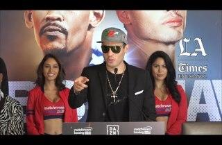 Chávez Jr.: Canelo es el mejor libra por libra 'porque no hay mucho'