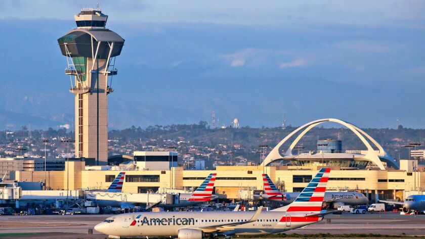 American Airlines suspended service from Gate Gourmet at Los Angeles International Airport in early November.