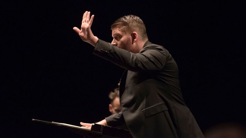 Matthias Pintscher conducts members of his two orchestras, the Lucerne Festival Academy and the Ensemble Intercontemporain at the 2015 Lucerne Festival.