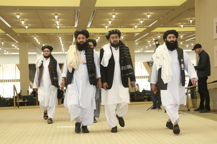 Afghanistan's Taliban delegation
