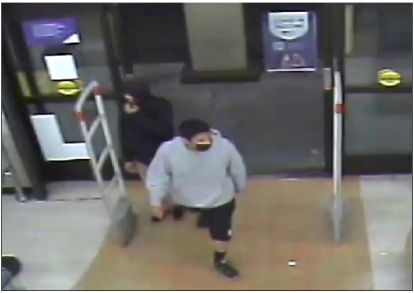 The LAPD is asking for the public's help in identifying two suspects involved in the killing of a Rite Aid employee.