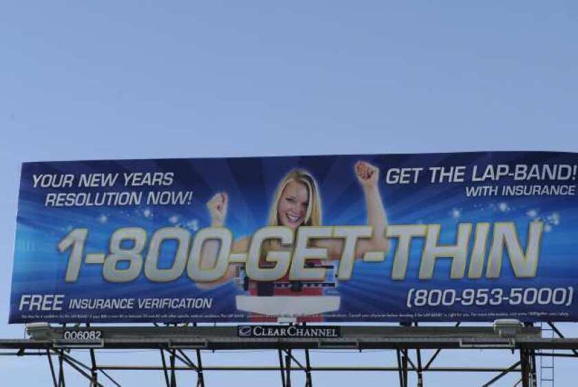 Lap-Band billboard