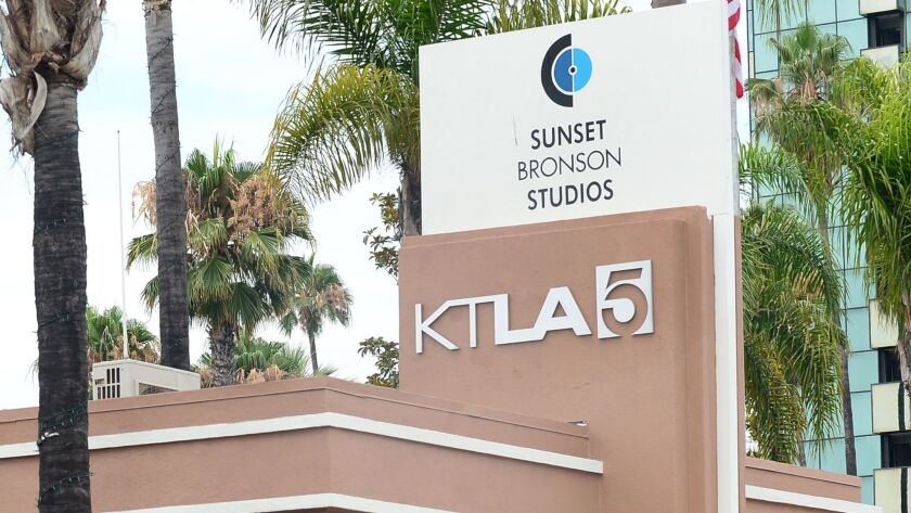 Sinclair Broadcast Group is a step closer to acquiring Tribune Media, which would give it control of KTLA-TV Channel 5 in Los Angeles.