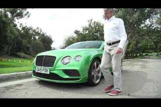Highway 1: 2015 Bentley Continental GT Speed