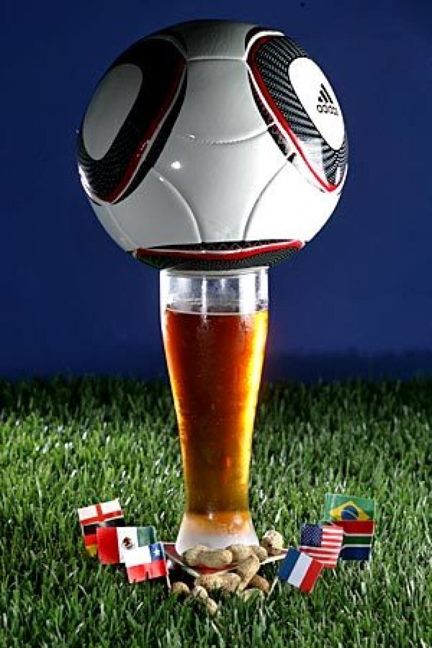 For the World Cup, restaurants in and around Los Angeles will be serving up international party food and drinks.