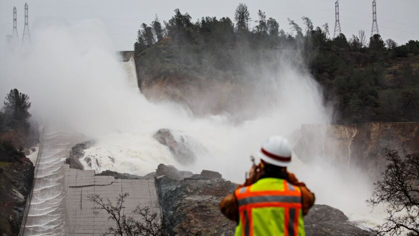 Human error played a role in Oroville Dam spillway failure, report