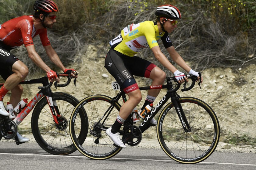 Tadej Pogacar Wins The Tour Of California Los Angeles Times