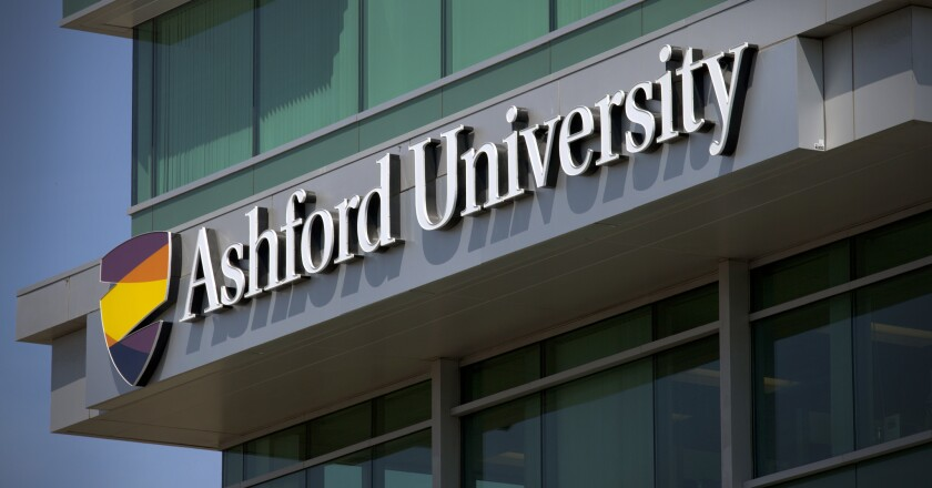 Ashford University could be sold as part of parent company's move to transition the online college into an independent, non-profit institution.