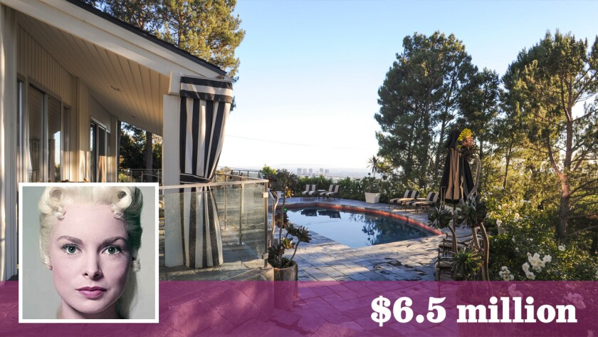 """The longtime Beverly Crest home of late film actress Janet Leigh of """"Psycho"""" fame has sold for $6.5 million."""