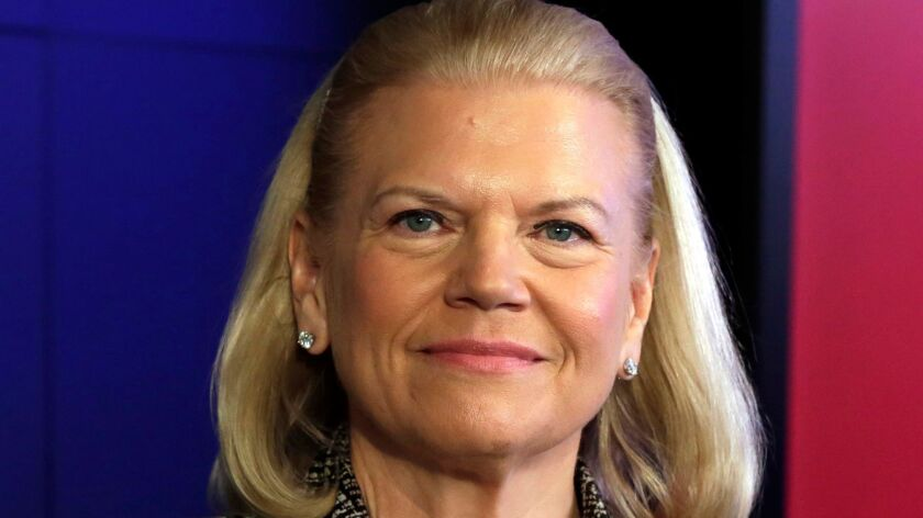 Virginia Rometty of IBM was one of the highest-paid CEOs and the top-paid female CEO in 2016, according to a new study.