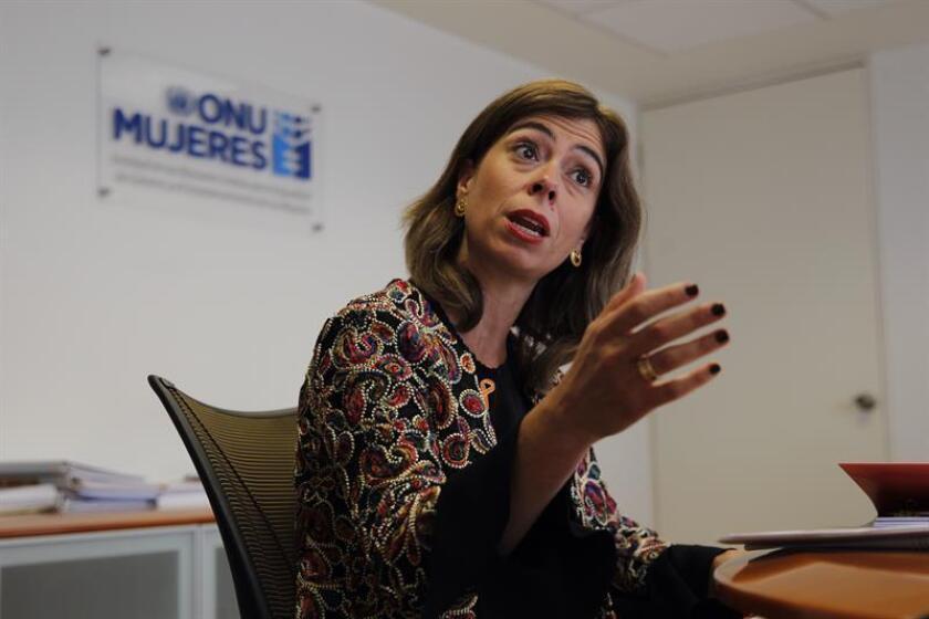 La representante de ONU Mujeres México, Belén Sanz. EFE/Archivo