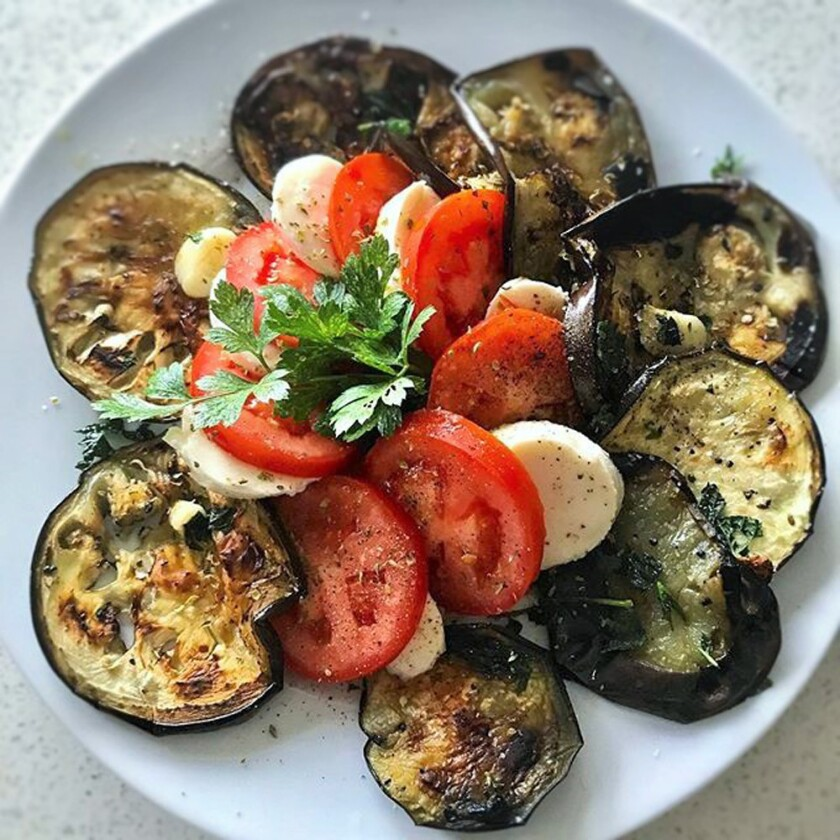 Giardino Neighborhood Cucina will open its doors in November and Eggplant Caprese will be featured on the menu.