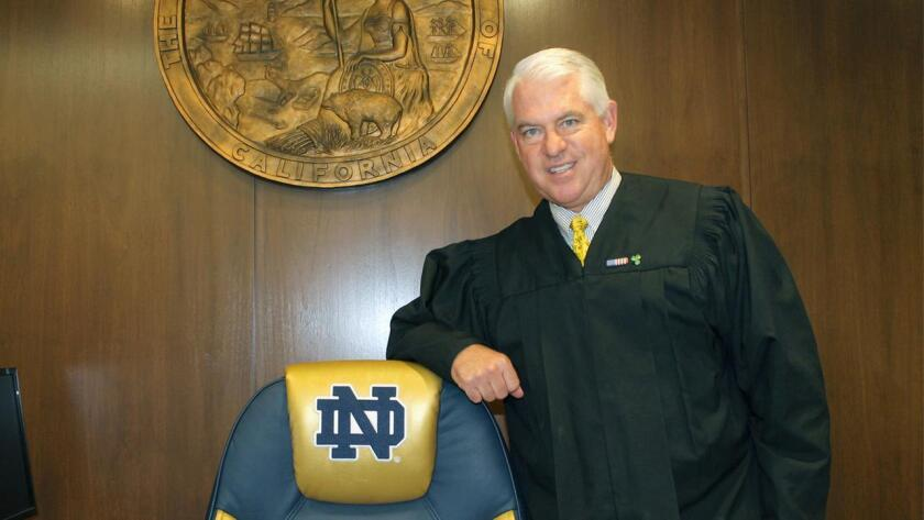 Orange County Superior Court Judge M. Marc Kelly.
