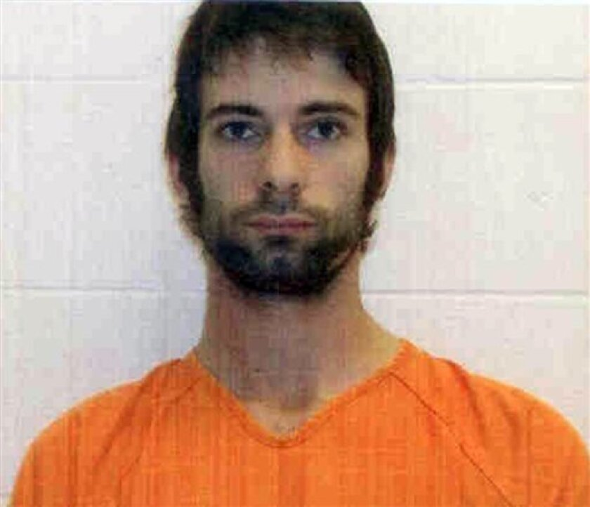 """This photo provided by the Erath County Sheriff's Office shows Eddie Ray Routh. He was charged with murder in connection with a shooting at a central Texas gun range that killed former Navy SEAL and """"American Sniper"""" author Chris Kyle and  Chad Littlefield, the Texas Department of Public Safety sai"""