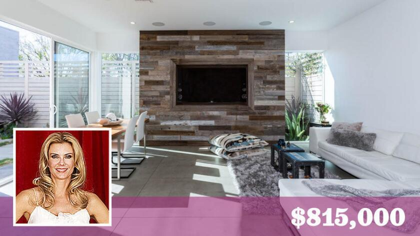 Soap actress Katherine Kelly Lang has listed her home in Glassell Park for sale at $815,000.