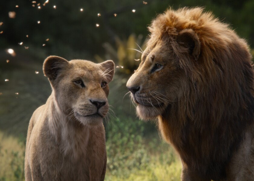 "Beyoncé, who voices Nala in ""The Lion King,"" has debuted a ""Spirit"" music video that features clips from the film."