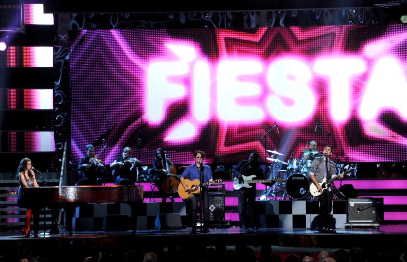 Latin GRAMMY Awards at the Mandalay Bay Events Center on November 10, 2011 in Las Vegas, Nevada.