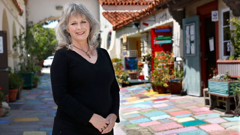 Daphne Gaylord, president of the Spanish Village Art Center, has vivid memories of spending time at the village in the 1960s and 1970s with her aunt, an artist.