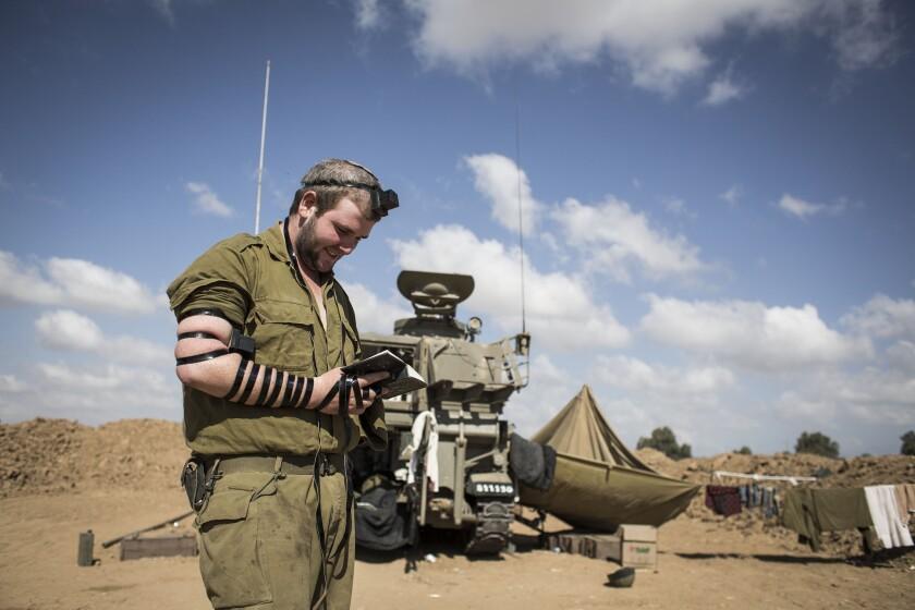At Israeli-Gaza border