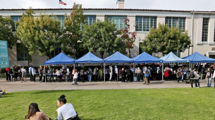 More students from the Glendale Unified School District are attending Glendale Community College after graduation and are thriving, according to a report from Michael Ritterbrown, the college's vice president of instructional services.
