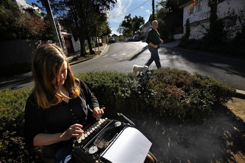 A writer's experiment becomes a neighborhood ritual