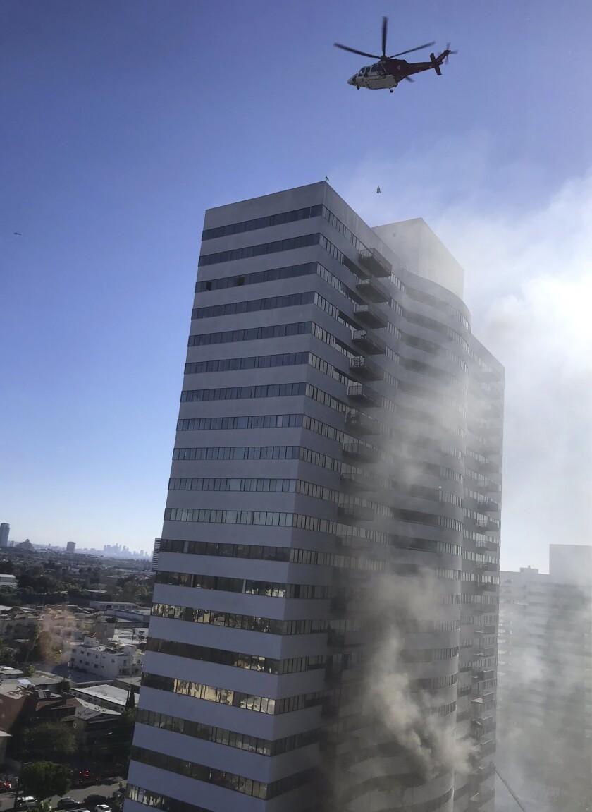 LOS ANGELES-INCENDIO